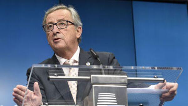 Presidente della Comissione Europea Jean Claude Juncker - Sputnik Italia