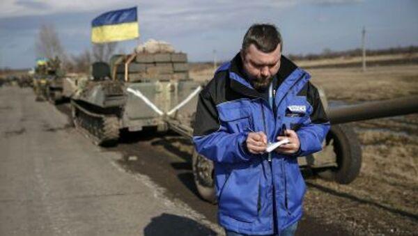 Osservatore OSCE in Ucraina - Sputnik Italia