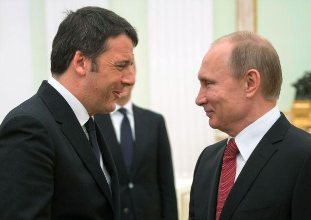Renzi e Putin