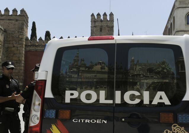 La Polizia Nazionale della Spagna