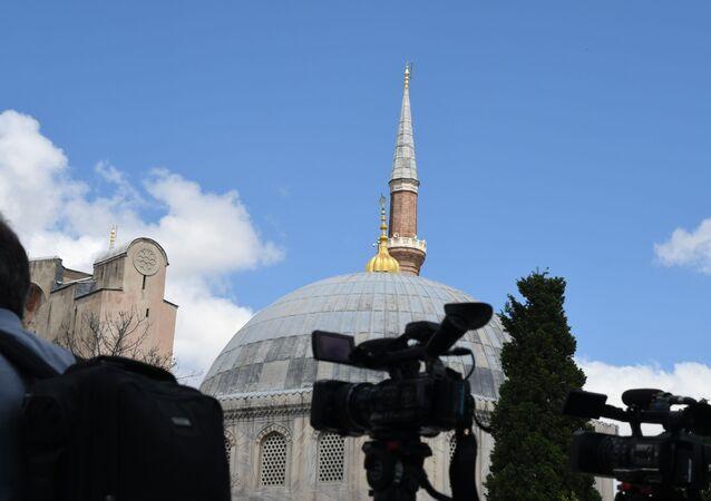 Santa Sofia a Istanbul, Turchia