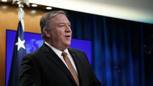 Il segretario di Stato USA Mike Pompeo  - Sputnik Italia
