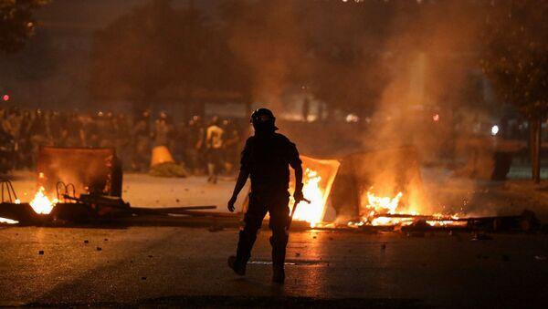 Un momento delle proteste a Beirut nel mese di giugno - Sputnik Italia