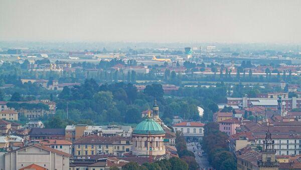 Vista sull'aeroporto di Bergamo - Sputnik Italia