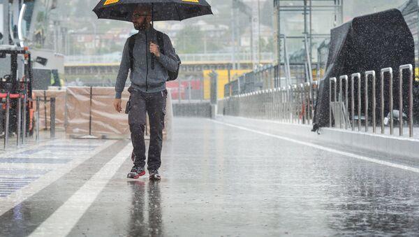 Formula 1, pioggia - Sputnik Italia