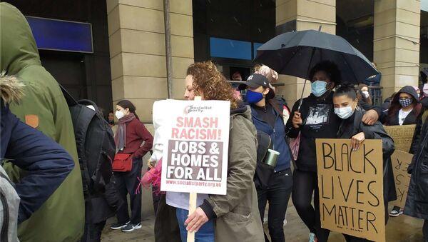 Black Lives Matters a Londra - Sputnik Italia