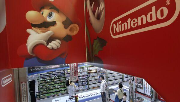 Logo Nintendo e Super Mario - Sputnik Italia