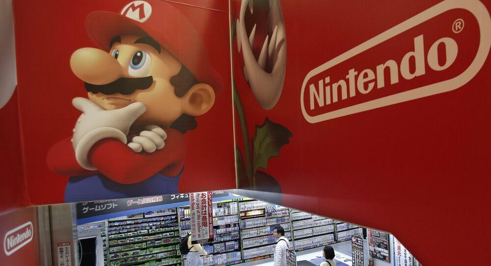 Logo Nintendo e Super Mario