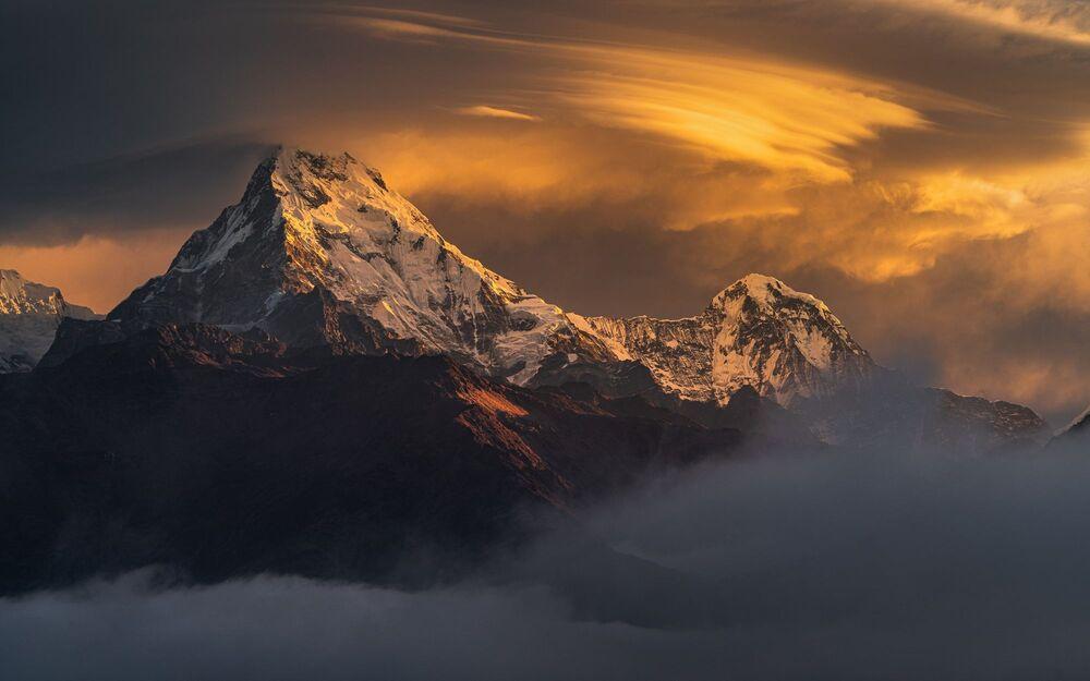 La foto Golden Glow del fotografo Jesse Little, vincitrice dei Sony Alpha Awards 2020 nella categoria Concorso paesaggistico