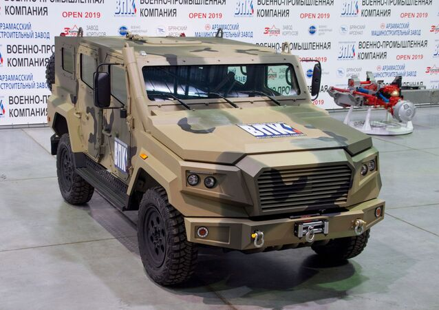 Light armored car Strela