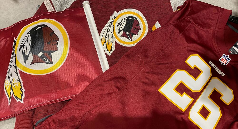 Maglie con logo degli Washington Redskins
