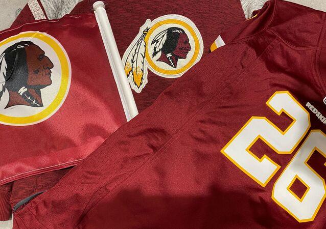 Maglie con logo degli Washington Redskins