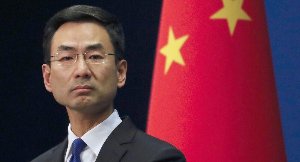 Portavoce del ministero degli Esteri cinese Geng Shuang