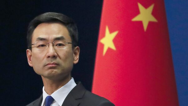 Portavoce del ministero degli Esteri cinese Geng Shuang - Sputnik Italia