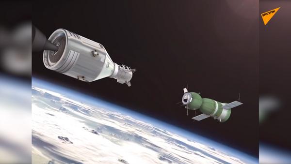 """""""Apollo-Soyuz"""": una stretta di mano nello spazio - Sputnik Italia"""