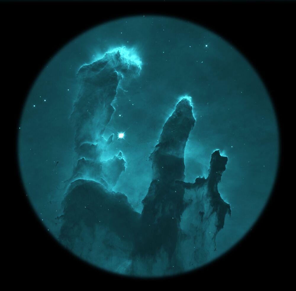 Lo scatto M16 del fotografo russo Alexios Theodorov, Insight Investment Astronomy Photographer 2020