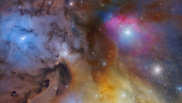 Lo scatto La magnifica: La Nube di Rho Ophiuchi del fotografo italiano Mario Cogo, Insight Investment Astronomy Photographer 2020 - Sputnik Italia