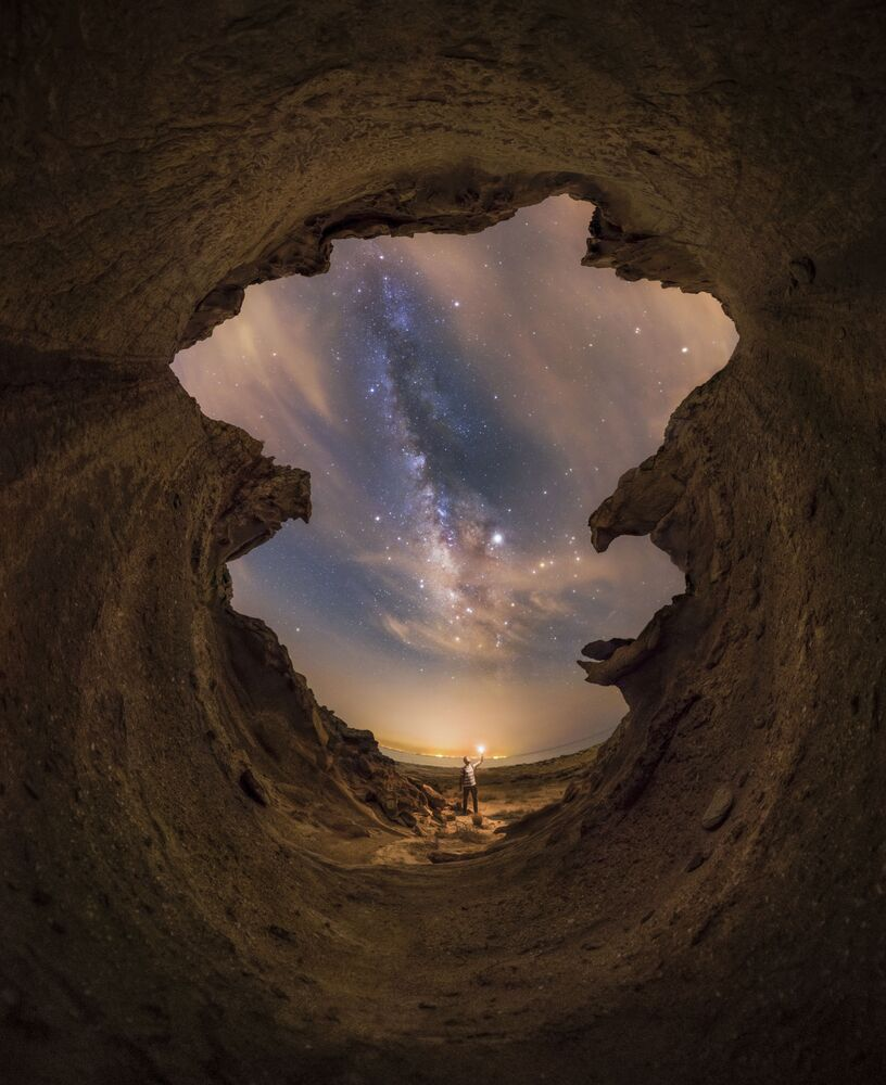 La foto Belle notti sul Golfo Persico del fotografo iraniano Mohammad Sadegh Hayati, Insight Investment Astronomy Photographer 2020