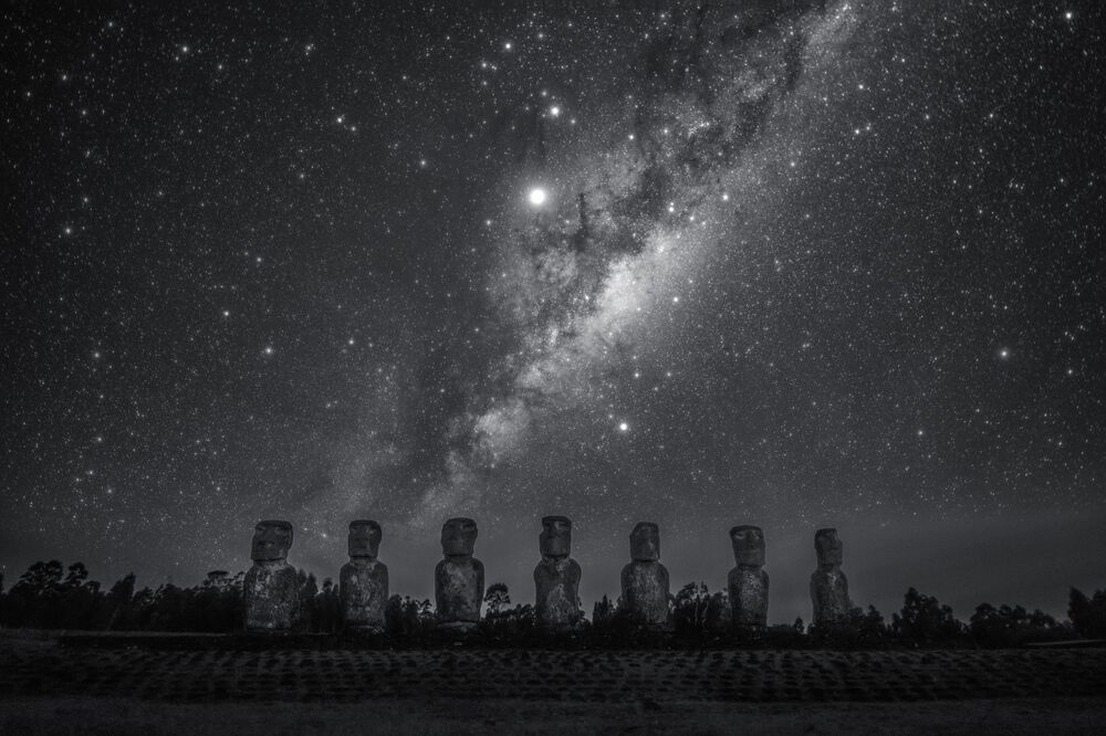 La foto Gigante delle stelle del fotografo cinese Dai Jianfeng, Insight Investment Astronomy Photographer 2020