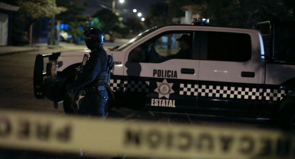 Polizia messicana (foto d'archivio)