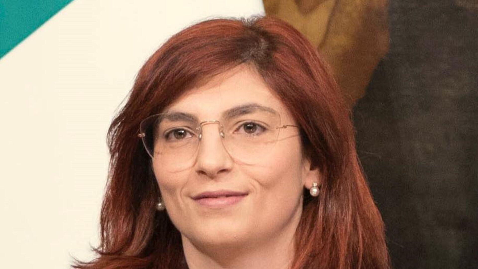 Viceministro dell'Economia e delle Finanza Laura Castelli - Sputnik Italia, 1920, 13.08.2021