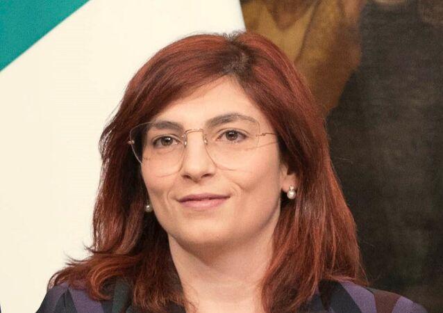 Viceministro dell'Economia e delle Finanza Laura Castelli