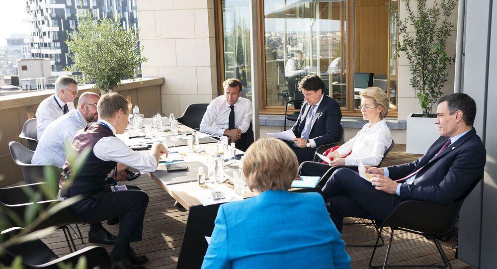 Incontro del premier Conte ai margini del Consiglio Europeo