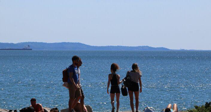 Barcola, la spiaggia in città