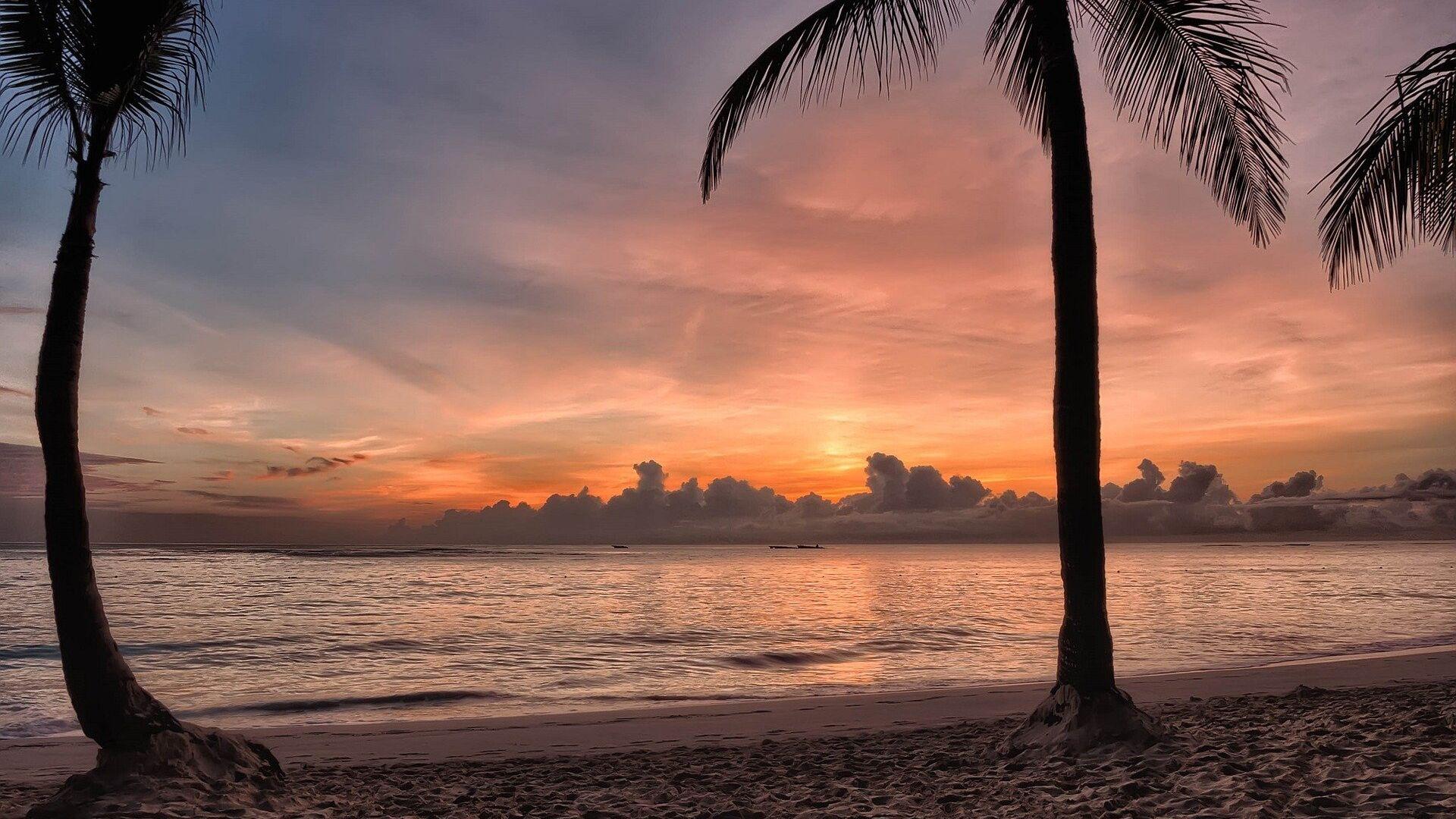 Spiaggia ai Caraibi al tramonto - Sputnik Italia, 1920, 06.08.2021