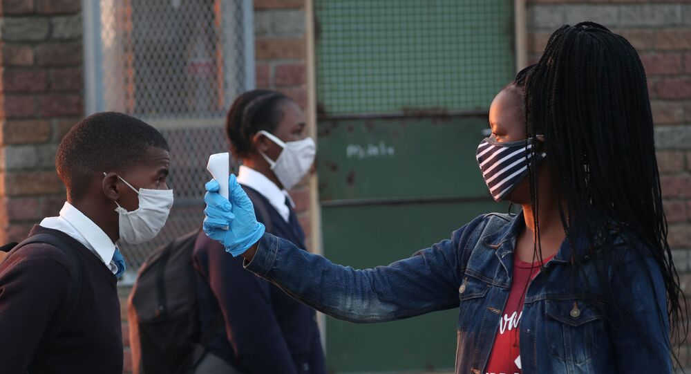 Coronavirus in Sudafrica