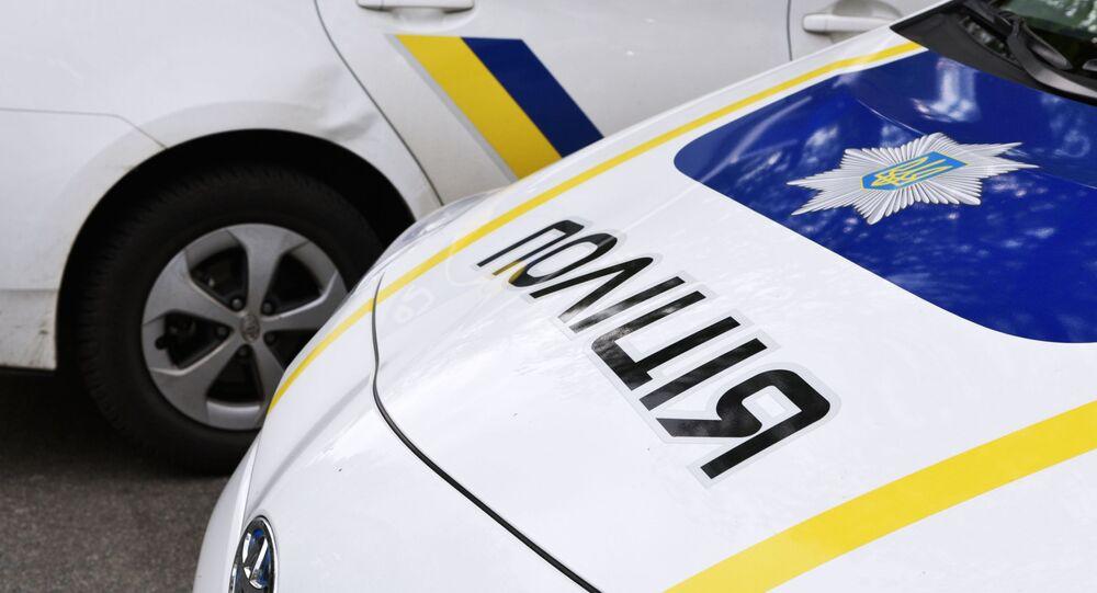 Auto della polizia ucraina