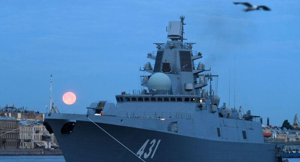Russia, la fregata Admiral Kasatonov è a disposizione delle forze navali