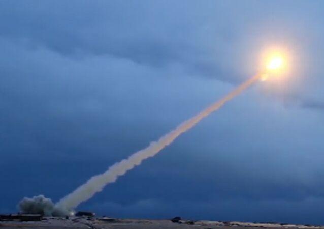 Missile da crociera a propulsione nucleare Burevestnik (foto d'archivio)