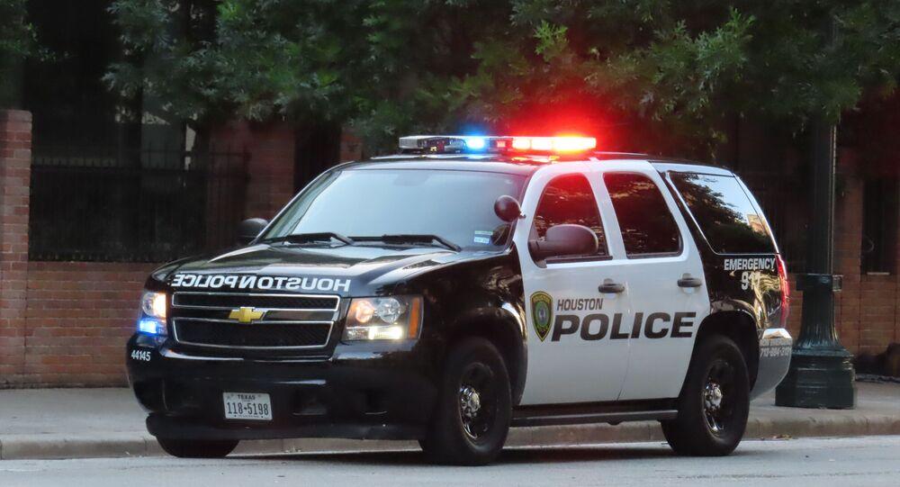 Texas police car