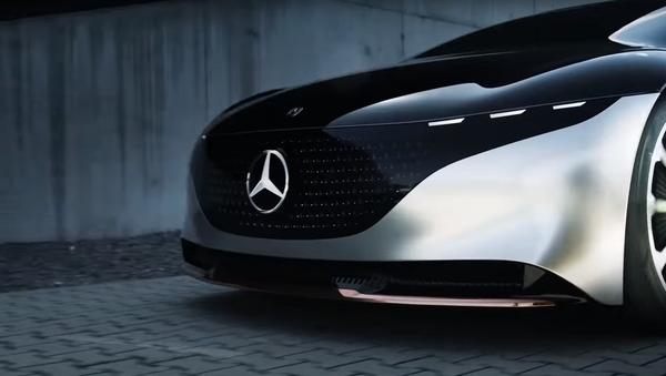 Mercedes EQS - Sputnik Italia