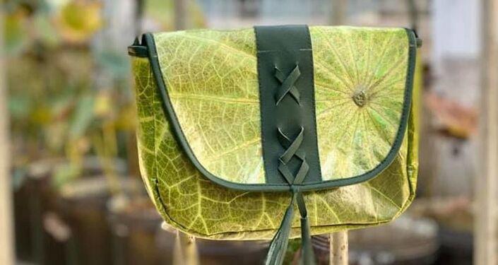 Prodotti fatti con foglie di loto