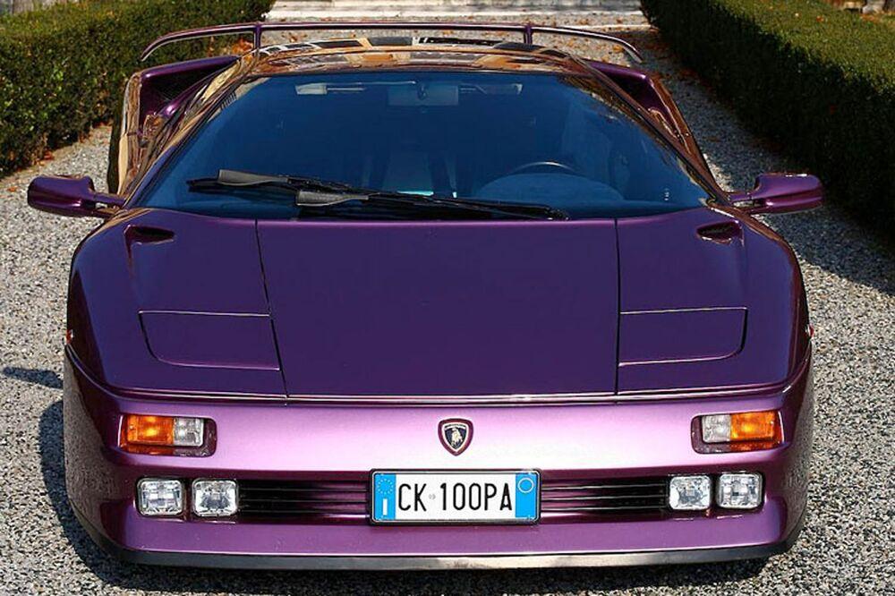 Una Lamborghini Diablo al Museo dell'auto di Torino