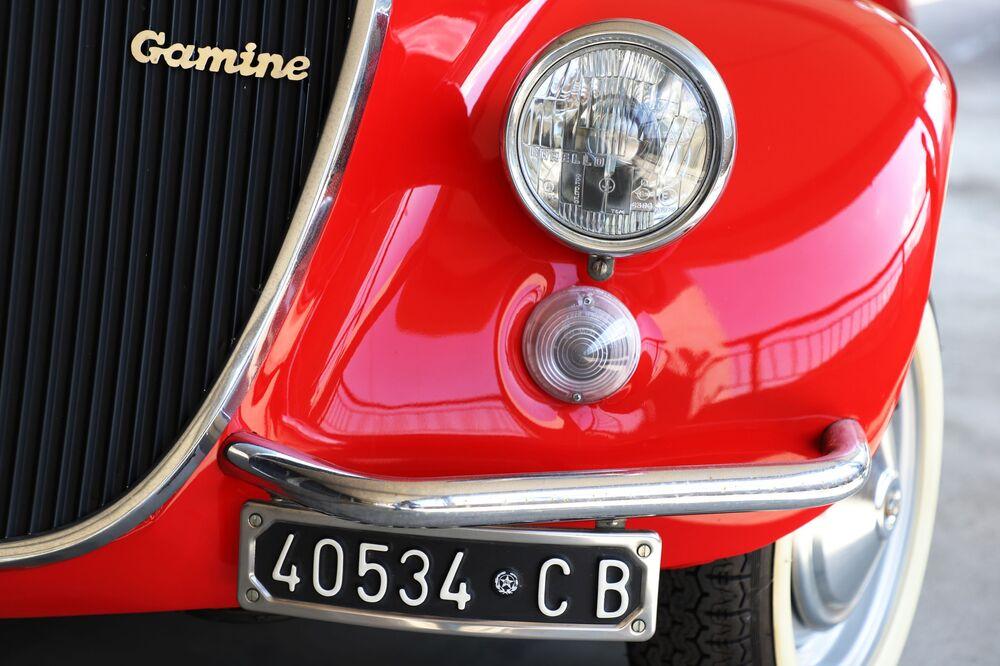 Una Fiat 500 al Museo dell'auto di Torino