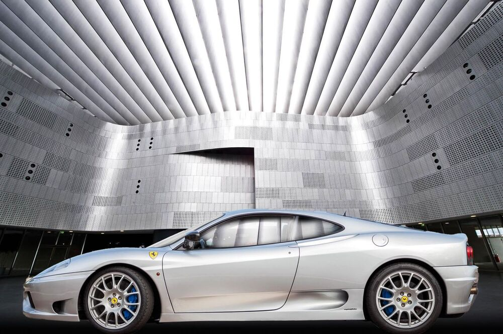 Una Ferrari 360 Challenge al Museo dell'auto di Torino