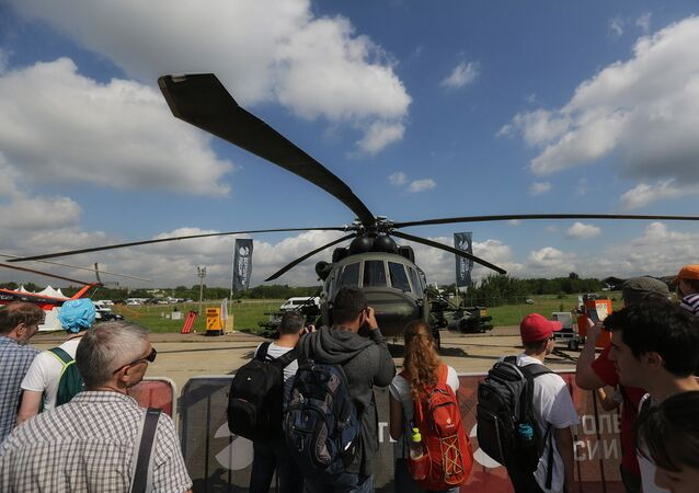 Nuovo elicottero d'attacco russo Mi-8AMTSh-VN