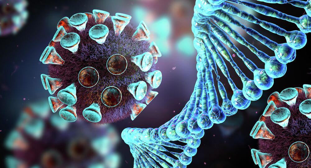 Molecola di coronavirus