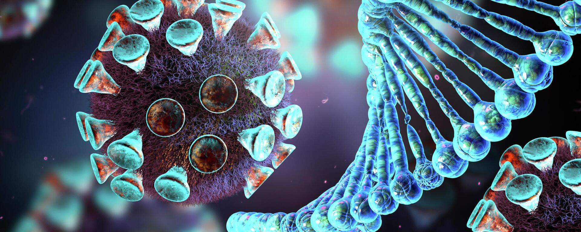 Molecola di coronavirus - Sputnik Italia, 1920, 06.06.2021
