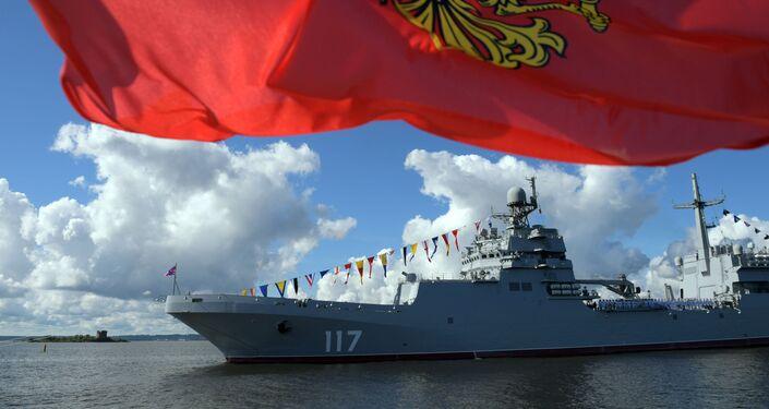 La nave Pyotr Morgunov