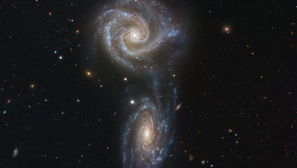 Galassie interagenti NGC 5426 и NGC 5427 - Sputnik Italia