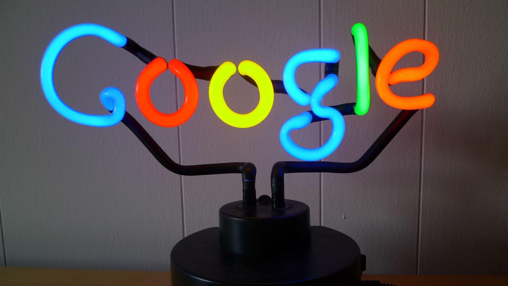 Google Neon - Sputnik Italia, 1920, 05.08.2021