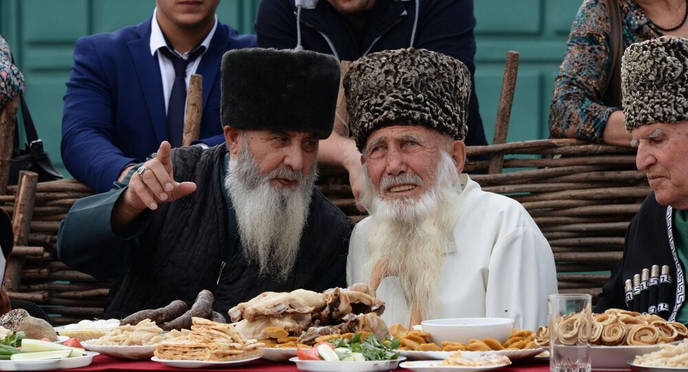 Anziani nel Caucaso