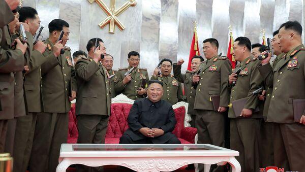 Kim Jong-un, il leader supremo della Corea del Nord - Sputnik Italia