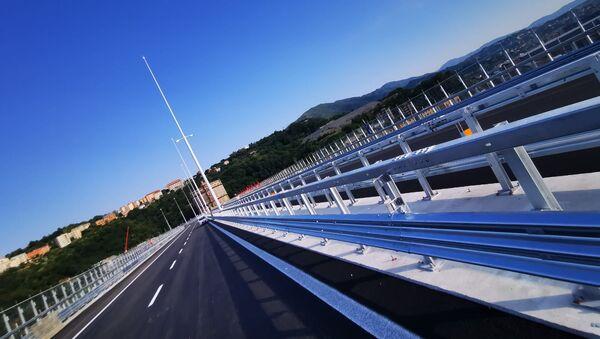 Il nuovo ponte di Genova San Giorgio - Sputnik Italia