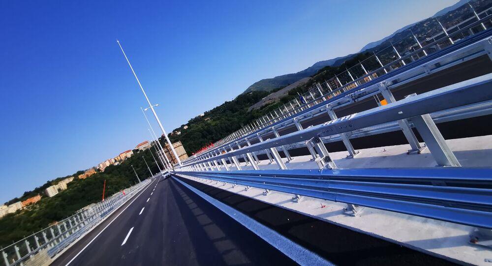 Il nuovo ponte di Genova San Giorgio