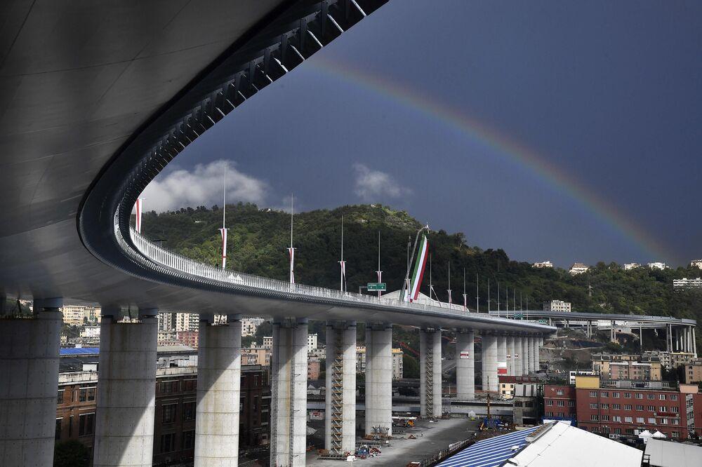 Il nuovo ponte di Genova San Giorgio.